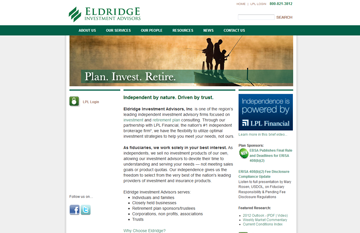 Eldridge Investment Advisors